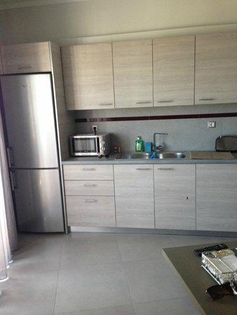Daniel Luxury Apartments & Hotel: Køkken