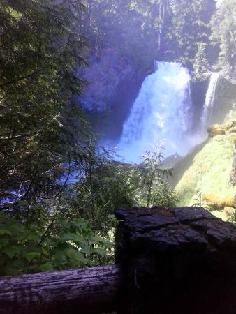 Sahalie and Koosah Falls: Gorgeous!