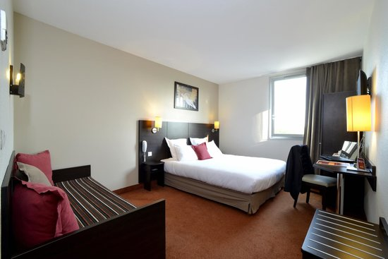 Hotel balladins Gennevilliers: Chambre familiale 2/3 personnes