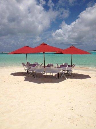 Club Med Columbus Isle : High Cay lieu du déjeuner