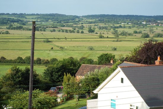 Little Orchard Bed & Breakfast: View from our bedroom
