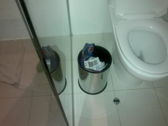 Hilton Surfers Paradise Hotel: Bin in the BathRoom