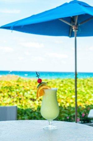 The Seagate Hotel & Spa: The Seagate's private Beach Club