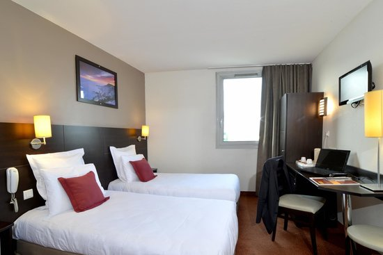 Hotel balladins Gennevilliers: Chambre 2 lits simples