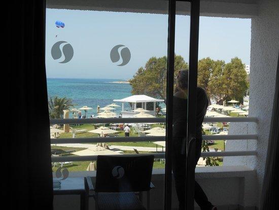 SENTIDO Le Sultan : Enchantée de la vue du 2ème étage