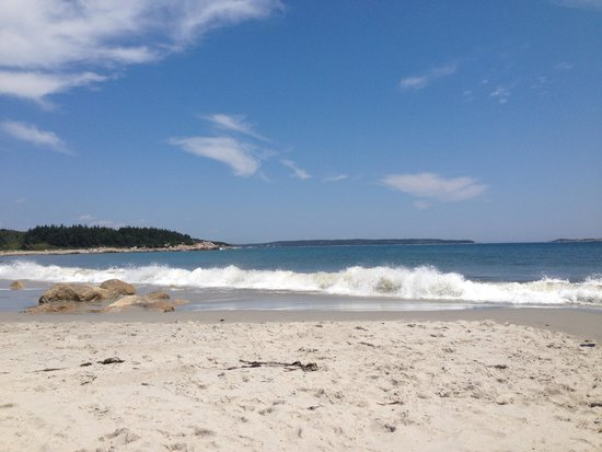 Crystal Crescent Beach Provincial Park Beautiful Day