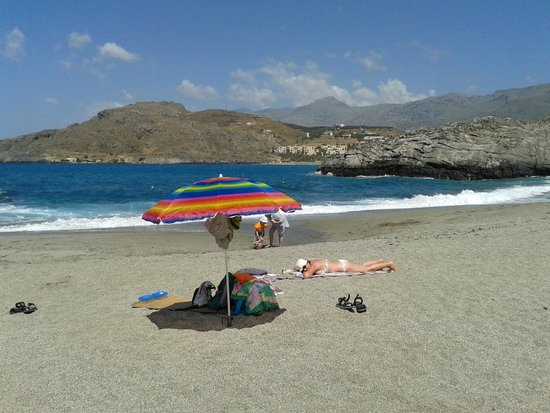 Ammoudi Beach: Spiaggia libera