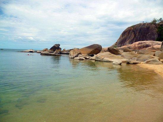 Lamai Beach: in questa stagione mare tranquilloo e pulito