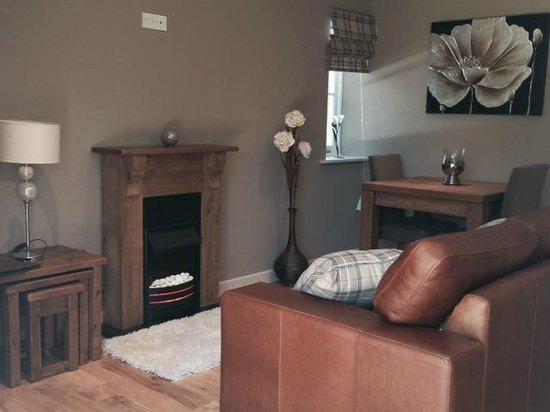 Easton, UK: Garden suite lounge