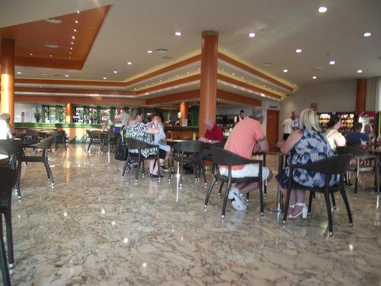 Hotel Flamingo Oasis: bar area