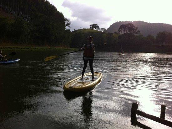 Fazenda Gamela Eco Resort: SUP no lago