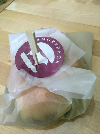 Boss Burgers: Served wrapped and skewered