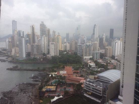 Trump International Hotel & Tower Panama: view from 28th floor corner room