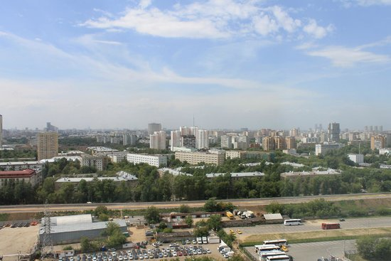 Beta Hotel Izmailovo : Вид из окна
