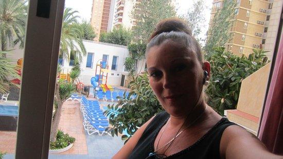 Hotel Magic Villa de Benidorm: vista desde la habitacion