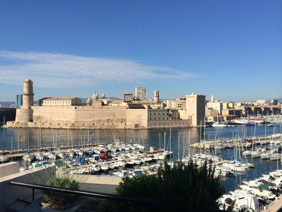 Sofitel Marseille Vieux-Port : Le Fort et le Mucem