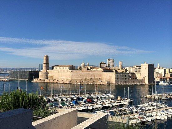 Sofitel Marseille Vieux-Port: Le Fort et le Mucem