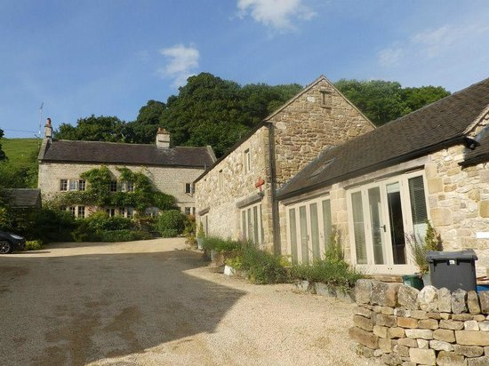 Swiers Farm House: The back of Emily Barn