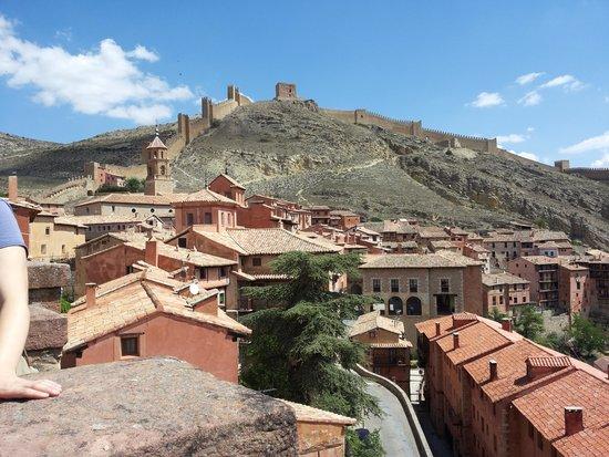 Hotel Albarracin: Vistas Albarracin desde la catedral