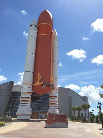 NASA Kennedy Space Center Visitor Complex: Atlantis entrance