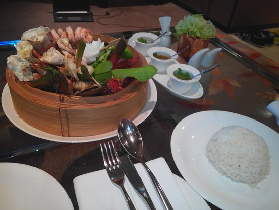 The Okura Prestige Bangkok: Room service. Fabulous cuisine)