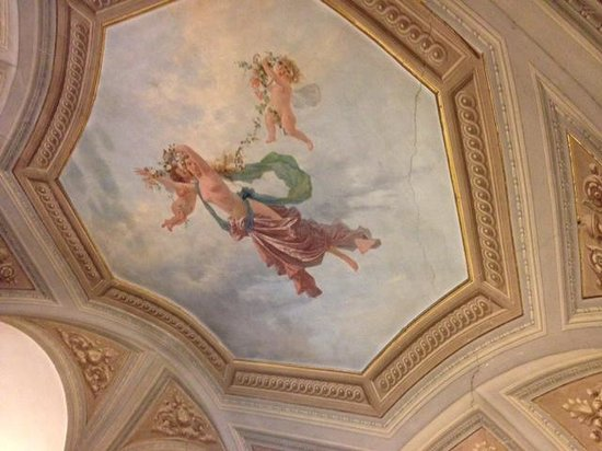 Hotel Vasari Palace: Ceiling