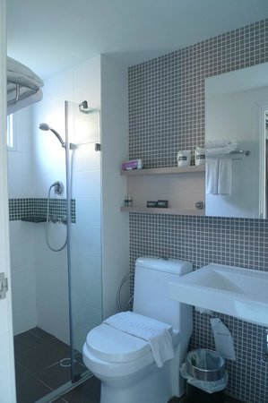 At Mind Executive Suites: Shower Room