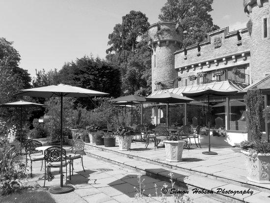 Bath Lodge Castle - rear aspect