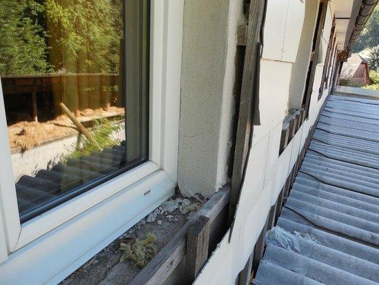Gaudihof Kaltenbrunner: Tak wykończone sa okna do pokoi