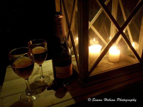 Bath Lodge Castle: Pavilion Hot Tub - Romance with bubbles