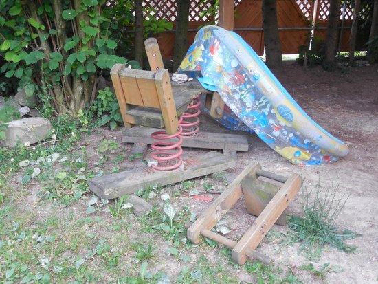Gaudihof Kaltenbrunner: Bajeczny ogród zabaw dla dzieci