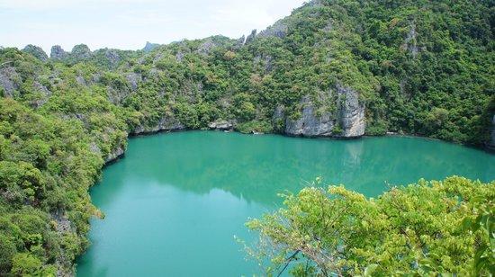 Mu Ko Ang Thong National Park : Вулканическое озеро