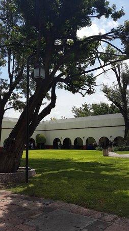 Hacienda Jurica: Vista de la Hacienda