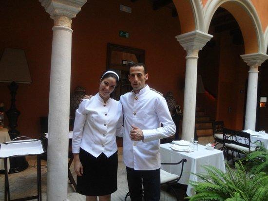 Boutique Hotel Casa del Poeta : the staff