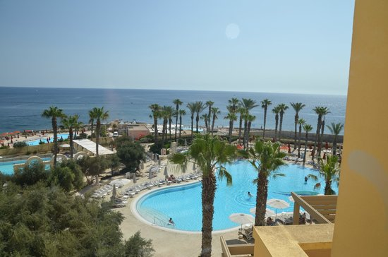 Hilton Malta: View from the room