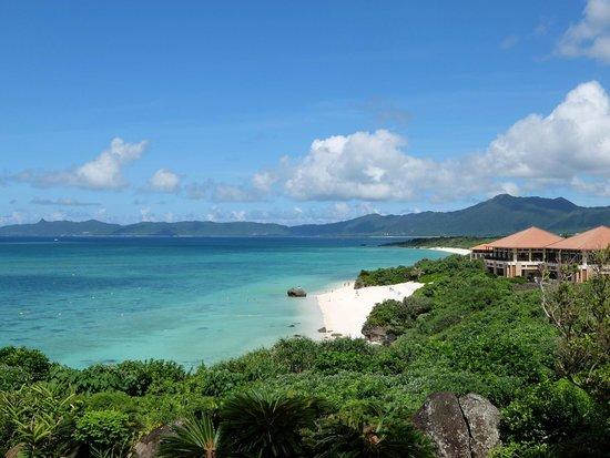 Club Med Kabira Beach: フロントから遠いA棟は景色が最高!