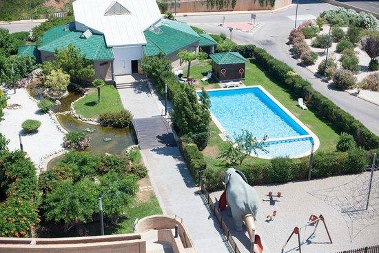 Hotel Louty Simba: Piscina
