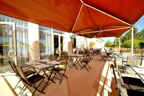 Hotel Royal Mirabeau by HappyCulture : Terrasse