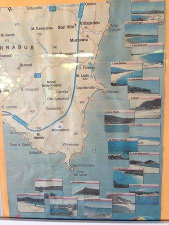 Residenza Rio Molas: Map