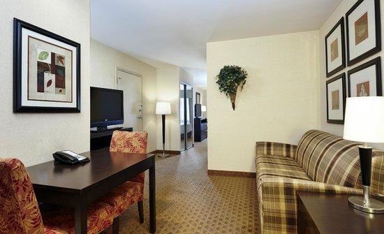 Homewood Suites Silver Spring: Hotel Suite - Living Area
