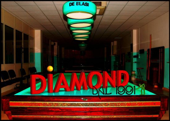 Sala Biliardi DIAMOND