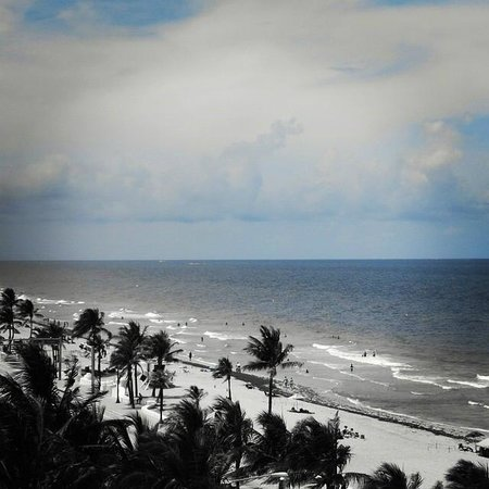 Hilton Fort Lauderdale Beach Resort: Fort Lauderdale -Vista da varanda do quarto