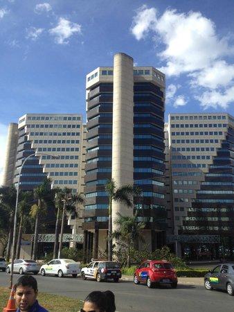 Comfort Suites Brasília: Vista de Eixo Monumental