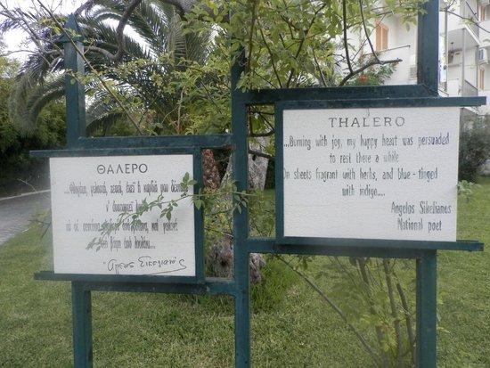 Thalero Holidays Center: Hotel enterance