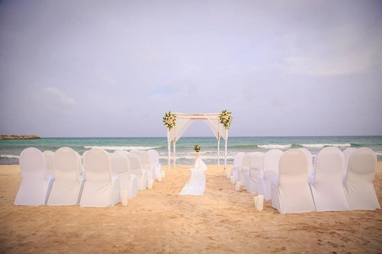 Now Jade Riviera Cancun : Where we got married!