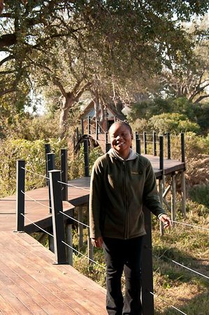 Kambaku River Sands: Cordy one of the front of house team, such fun