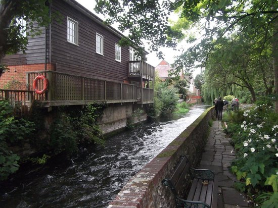 Winchester City Mill: The stream in full effect