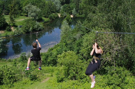 Parc Xtrem Aventures Cergy: Twins Speed