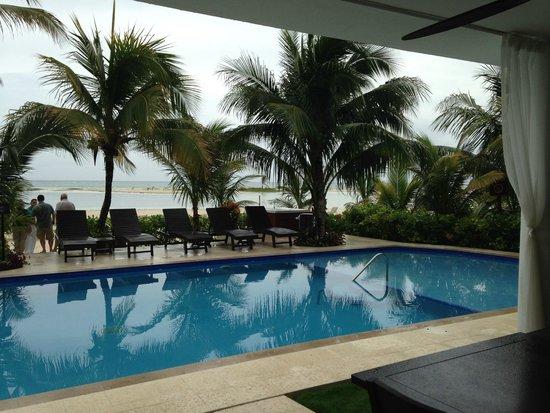 El Dorado Maroma, by Karisma: Our private pool