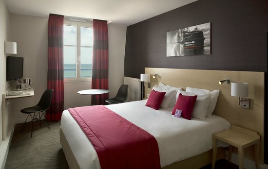 Mercure Saint Malo Front de Mer: chambre vue sur mer